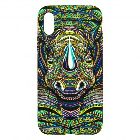 Husa IPhone XS MAX LUXO TPU - Tribal Rhino