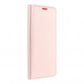 Husa Samsung Galaxy S20 Plus Magnet Book tip carte cu magnet, piele ecologica - rose gold